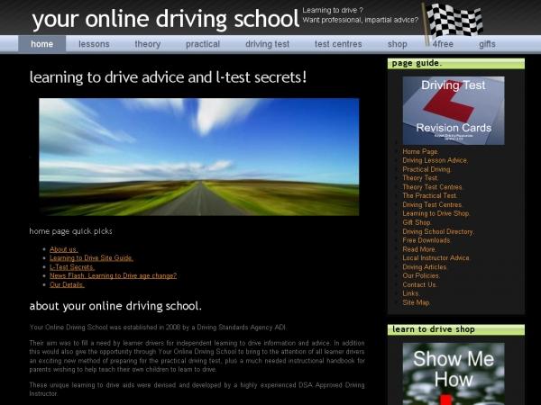 Your Online Driving School